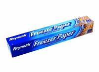 Reynolds Freezer Paper Plastic Coated 50 Sq Ft., New, Free Shipping on sale