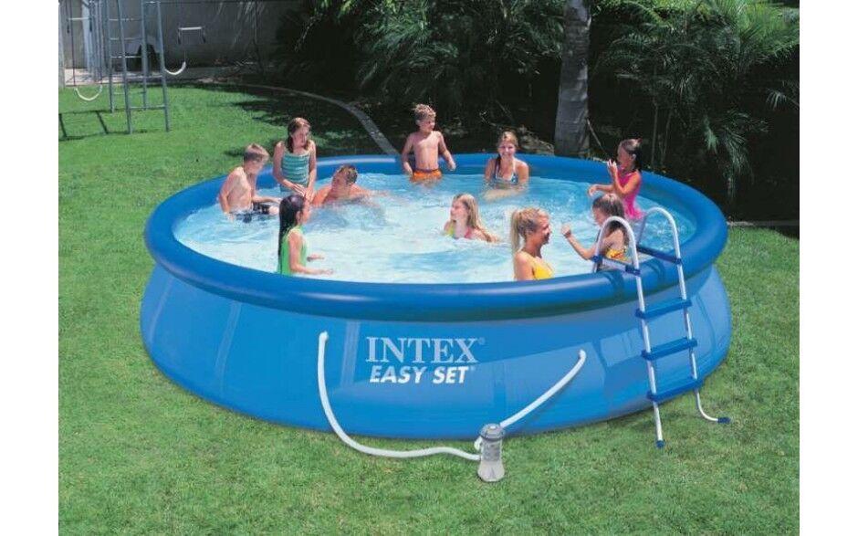 Intex Easy Set Pool 457 457 457 x 91 cm mit Filterpumpe 54914 GS f91fc6