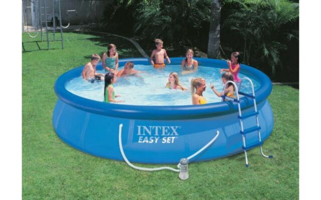 intex easy set pool. Intex Easy Set Pool 457 X 91 Cm With Filter Pump 54914 GS