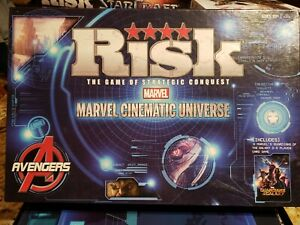 Details about Risk: Marvel Cinematic Universe Board Game Avengers Guardians  of the Galaxy Fun