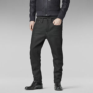 G-Star-Jeans-039-TYPE-C-3D-LOOSE-TAPERED-039-BLACK-TRIG-3D-W30-L34-NEW-RRP-299-Mens