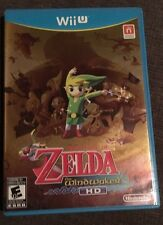 Nintendo Wii U Game The Legend Of Zelda: The WindWalker HD, Complete