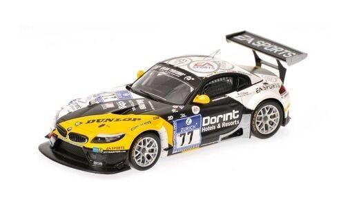 MINICHAMPS 437102077-BMW 1 43 Z4 GT3 Schubert Motorsport nurburgbring 2010
