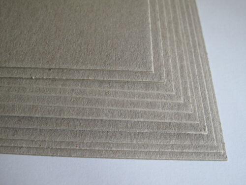 10 X A4 Carte Artisanat greyboard gris bord 1000mic 1mm