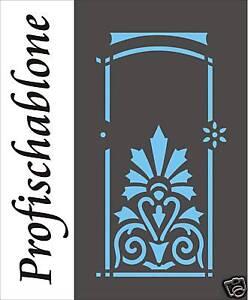 Schablone-Malerschablone-Stencils-Wandschablone-Wanddekor-Kassettierungen