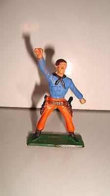 Iniziativa Figurine Figur Starlux Cowboy Far West N°100 (6x4cm) Guidare Un Commercio Ruggente