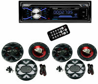 Boss 508uab Dash Cd Car Player Usb/sd Mp3 Receiver Bluetooth + 4 6.5 Speakers on sale