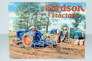 Ford-New-Holland-Tractor-Advertising-Tin-Signs-9-variations-danglers-Gt-gift