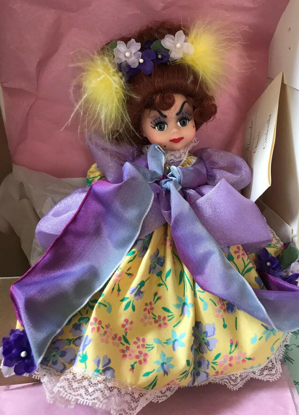 Madame Alexander Ugly Stepsister from Cinderella Collection 8  13440 RARE NIB