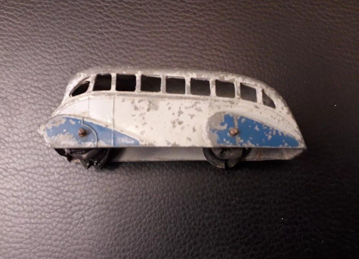 DINKY MECCANO No.29b rationalisé Bus 1947 - 50 gris & bleu | Doux Et Léger