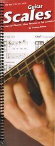 Guitar Scales Spiral Bound Amore *-afficher Le Titre D'origine Renforcement Des Nerfs Et Des Os