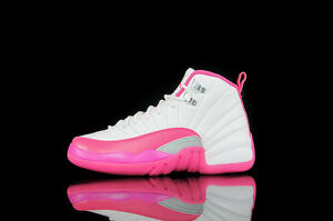 4b05064f0cf3 Air Jordan Retro 12 Hot Pink White 1 Boys bred black 11 Playoff Taxi ...