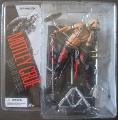 MOTLEY CRUE VINCE NEIL ACTION FIGURES MCFARLANE Toys Rare from 2005 MISB!