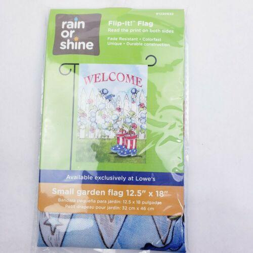 "Rain or Shine Art Flags Small Garden Flag 12.5/"" x 18/"" PICK YOUR PATTERN"