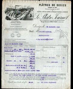 DECIZE-58-USINE-PLATRERIE-034-PLATRES-de-DECIZE-JOURNOT-034-en-1942