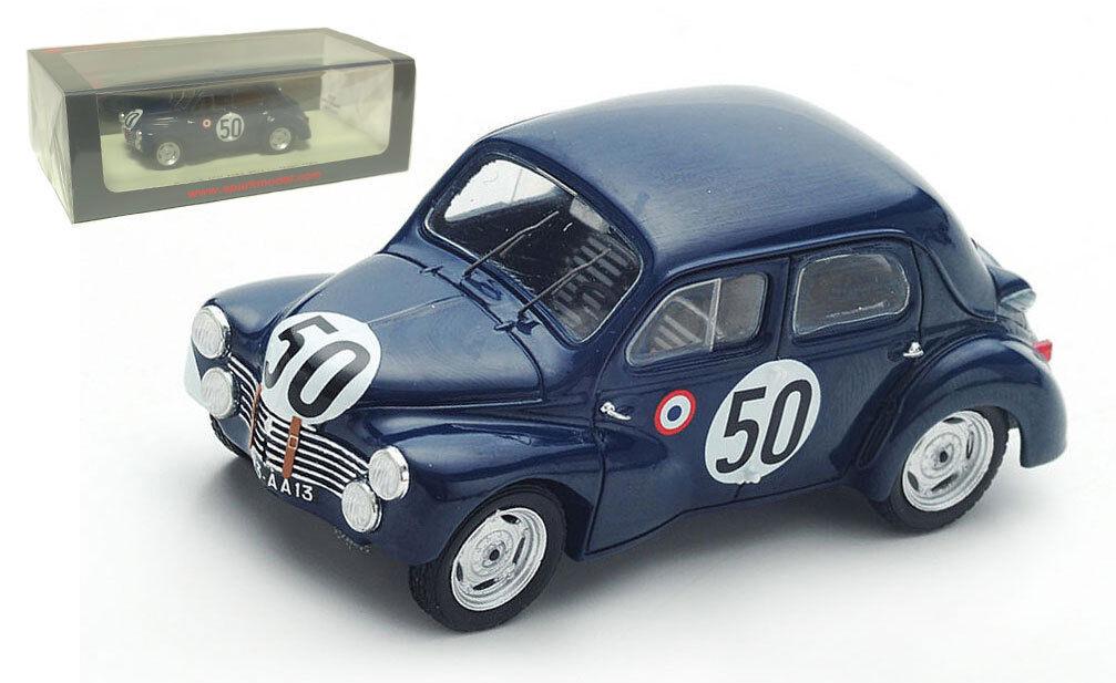 Spark S5210 Renault 4CV 1063 Le Mans 1951 - Landon Briat 1 43 Scale