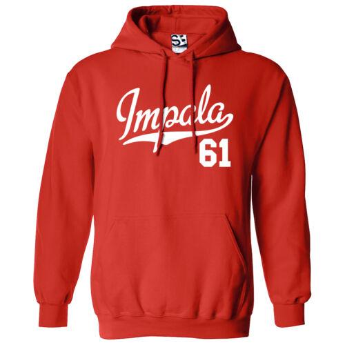 1961 Tail Sweatshirt Impala amp; All Hooded Script Colors Hoodie 61 Lowrider TqH7YF