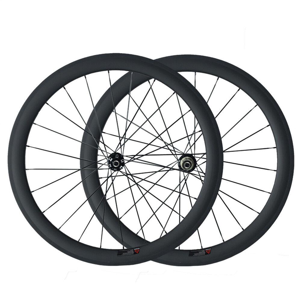 Carbon Wheelset Disc Wheel 50mm Depth Tubular  Disc Brake Cyclocross Bike Wheel  large discount