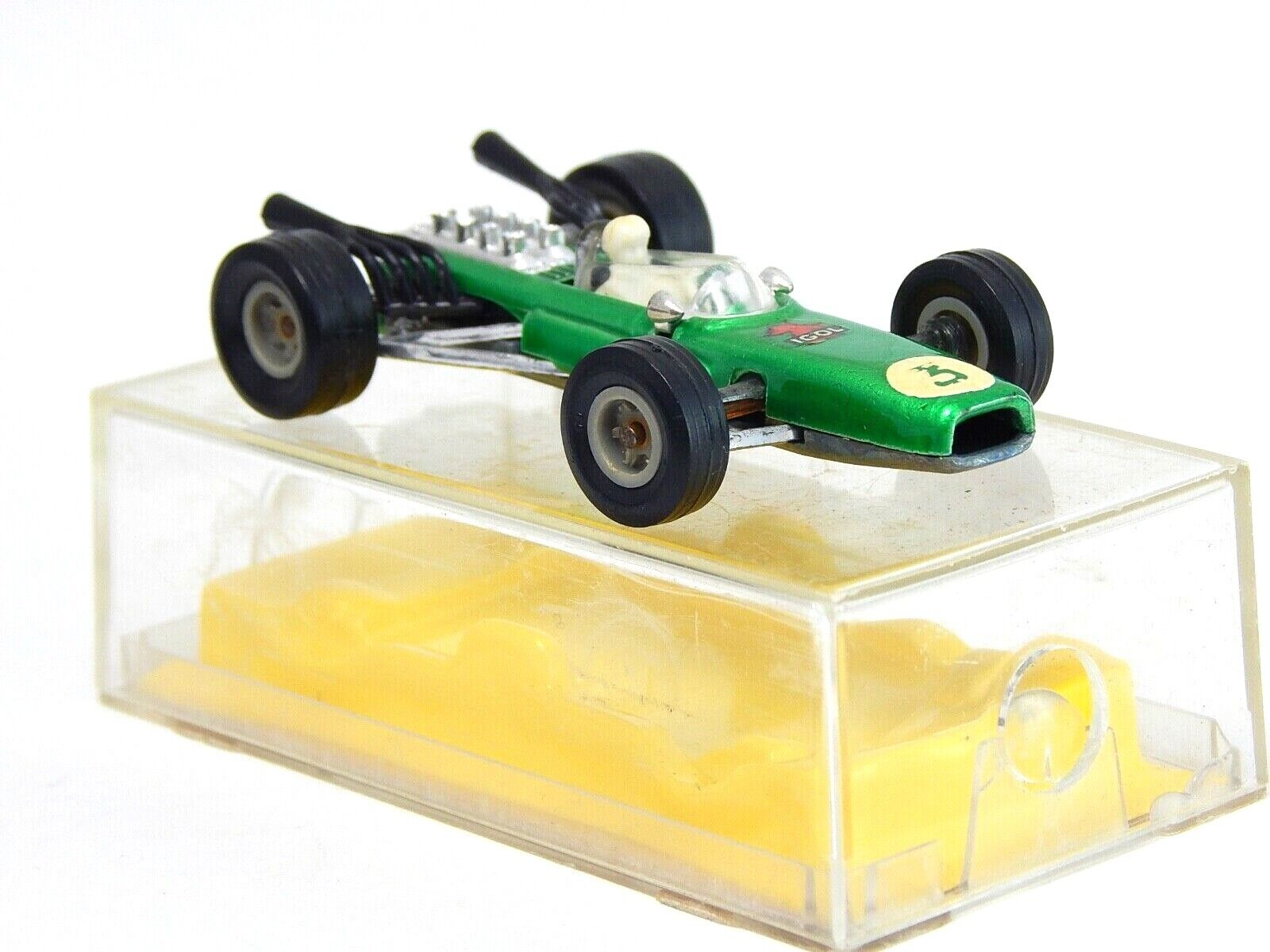 Racing voiture Repco vert   3 Majorette 226 1 55 Made in France with Plastic Box  sports chauds