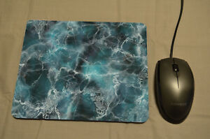 BLUE-MARBLE-Pattern-Mousemat-Mouse-Pad-Desk-Decor-PC-Birthday-Gift-Graduation