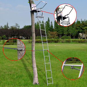 16 Deluxe Hunting Ladder Stand Tree Stand Safety Harness