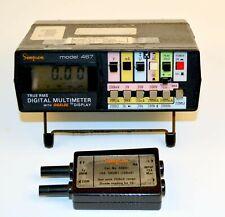 Simpson 467 True Rms Digital Multimeter