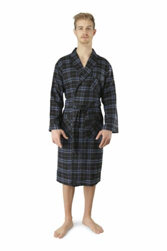 New Acura Men/'s FLANNEL ROBE Multi Color/'s,Size S-M-L-XL-2X-3X!GREAT FOR A GIFT