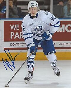 Alexander-Nylander-Signed-8x10-Photo-Mississauga-Steelheads-Autographed-w-COA