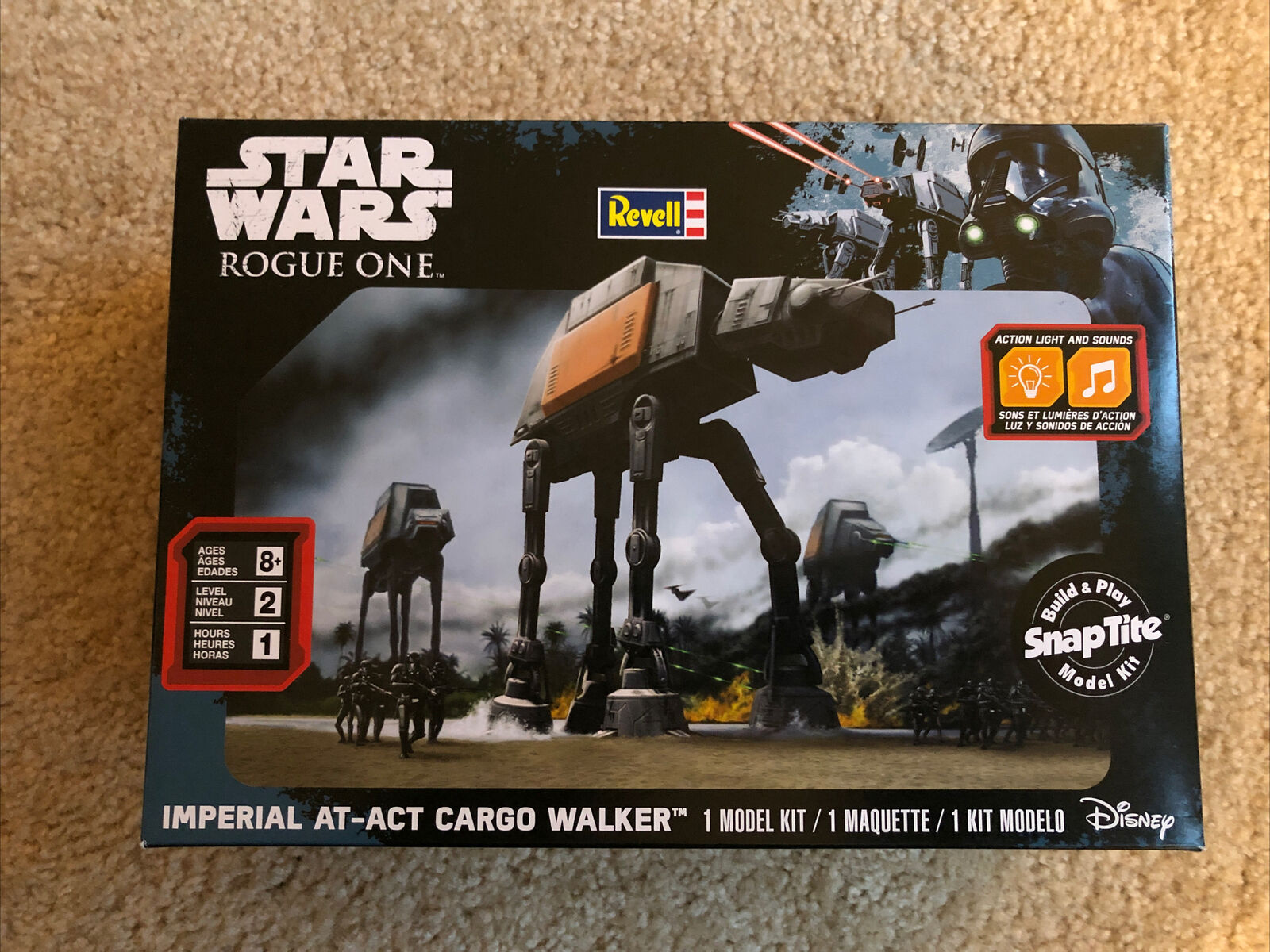 Rogue One NEW SEALED Hot Wheels Star Wars Imperial At-At Cargo Walker