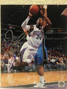 Jason Thompson Signed Sacramento Kings 8x10 Photo AMSM