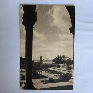 Bonnefont-Cloister-The-Herb-Garden-George-Washington-Bridge-Unposted-Postcard