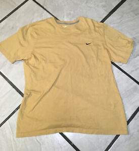 Nike-Mens-T-Shirt-Size-X-Large-Small-Embroidered-Swoosh-Logo-Short-Sleeve