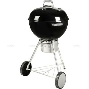weber kugel grill one touch premium 57 cm holzkohlegrill standgrill schwarz ebay. Black Bedroom Furniture Sets. Home Design Ideas