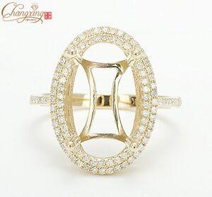 10x15mm-14K-Gold-Natural-0-55ct-Diamond-Semi-Mount-Engagement-Setting-Ring