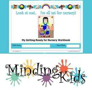 Image Is Loading Ready For Nursery Workbook Help Children Prepare Starting