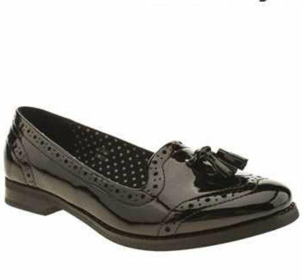 Schuh Dreams Ladies Tassle Loafers Black UK 7 EU 40 LN47 05
