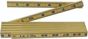 Wiha 61609 Inside Reading Long Life MaxiFlex Folding Ruler, 6-Foot