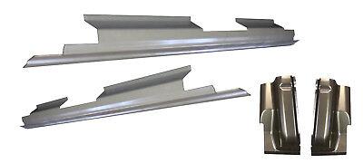 Works With 1997-03 Ford F-150 Pickup 2 DOOR Regular Cab Outer Rocker Panels Pair Motor City Sheet Metal