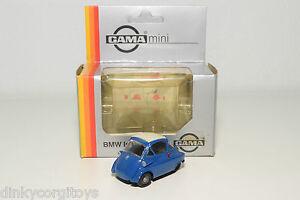 GAMA-1150-BMW-ISETTA-BLUE-MINT-BOXED-RARE-SELTEN-RARO