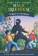 Magic Tree House (R): Night of the Ninjas 5 by Mary Pope Osborne (1995, Paperba…