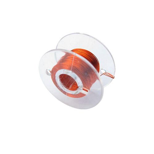 15mm naranja 10 metros Alambre cu bobina modelo ferroviario modellbau Cobre charol alambre 1x0