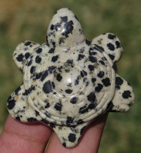 Natural Dalmation Jasper Crystal Turtle Base for SPHERE EGG Display Stand gift