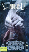 Schindler's List - Liam Nieeson, Ben Kingsley - (2) Vhs Tape - Still Sealed