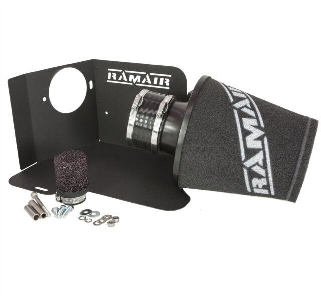 Ramair Cone Air Filter Intake Induction Kit Heat Shield for Audi S3 TT 225