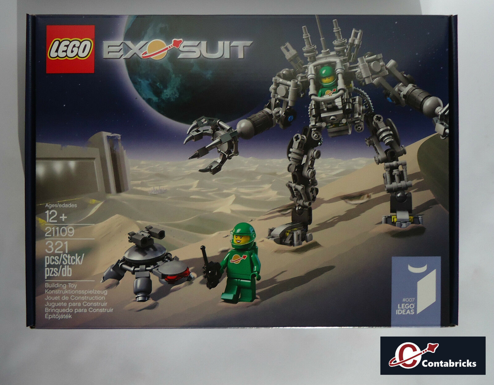 LEGO Ideas CUUSOO 007 Set 21109 Exo Suit - New Sealed