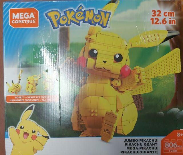 Mega Construx Pokemon Jumbo Pikachu Set