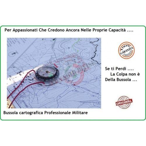 Compass Bussola Cartografica Montagna Mappa Sout Alpinismo Militare Soft Air