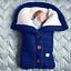 Indexbild 6 - Baby Kinderwagen Winter Einschlagdecke Wickeldecke Schlafsack Decke für Warme