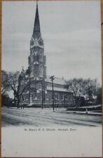 1905 Postcard: Roman Catholic Church - Norwalk, Conn CT