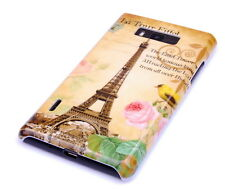 Hülle f LG Optimus L7 P700 P705 Schutzhülle Tasche Case Cover Paris Eiffelturm